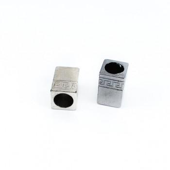 Metal binder rectangular shape diameter 8 mm length 13 mm E 1341