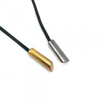 Lacing end metal diameter 6 mm 25 mm size E 2009
