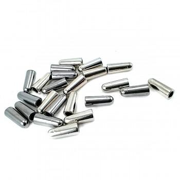 Lace end metal diameter 5 mm length 15 mm E 2097