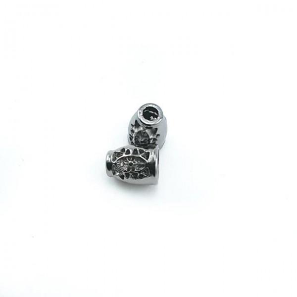 Metal cord end diameter 4 mm length 15 mm E 407