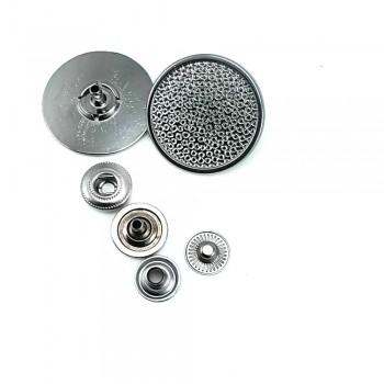 27 mm -  43 lignes Metal snap button B 29