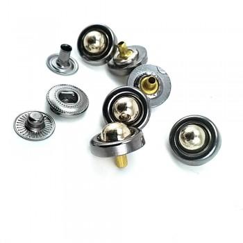 14 mm / 22 L Metal snap button  B 70