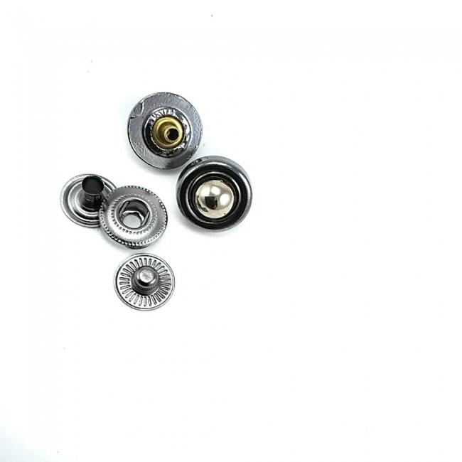 Metal çıt çıt düğme 14 mm / 22 boy B 70