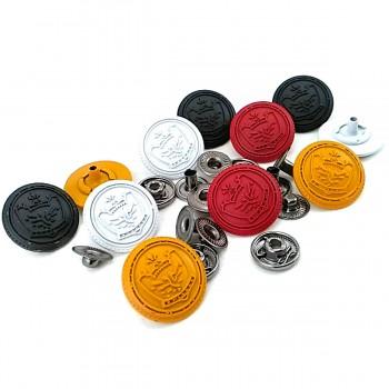 Crown Logo Snap Button 19 mm E 1448