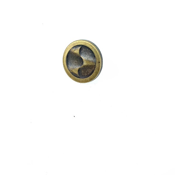 Stylish Patterned Snap Button in 17 mm - 27 L E 1457