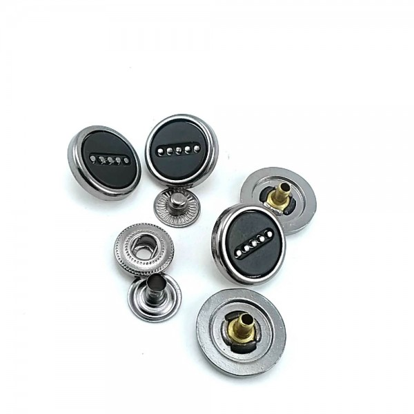 Metal snap button 17 mm / 27 size E 1555