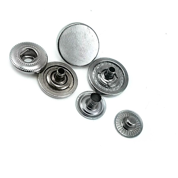 Metal classic snap button 15 mm - 24 size E 1718