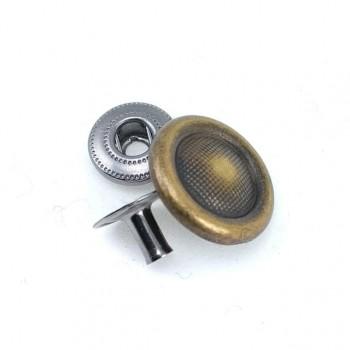 18 mm - 28 lignes Snap button elegant design E 175