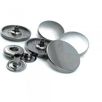 Metal snap button 23 mm - 40 size E 2074