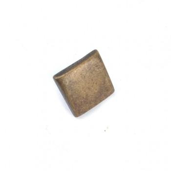 11 x 11 mm Snap button square  E 221