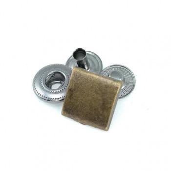 17 x 17 mm Button studs square design E 232