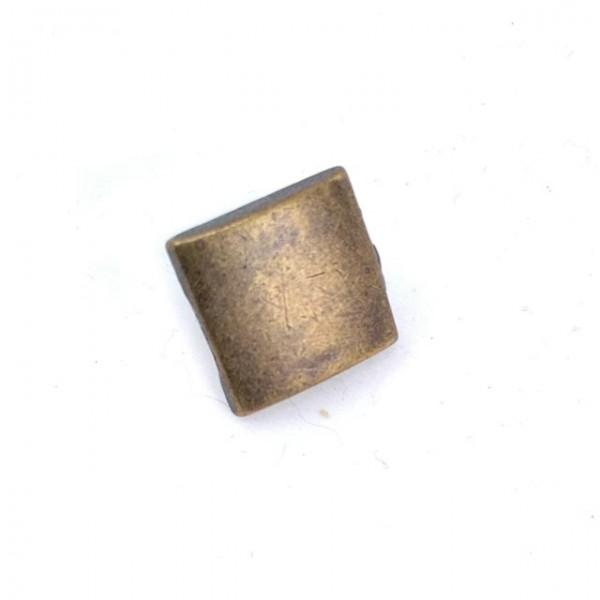 Button studs square design 17 x 17 mm E 232