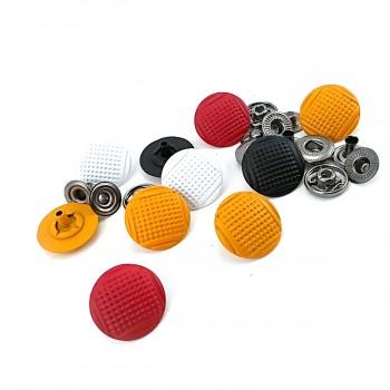 Metal snap button spot pattern diameter 17 mm E 267