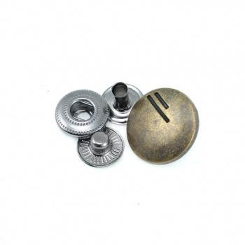 17 mm diameter snap button Stylish design E 271