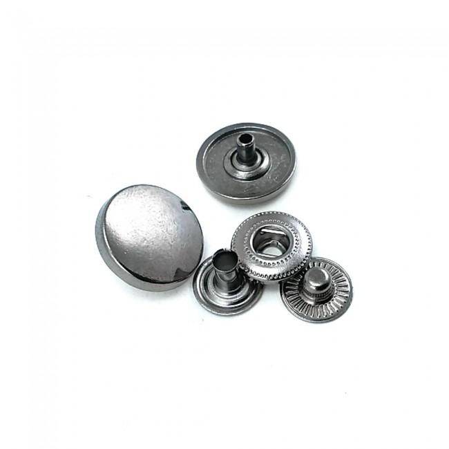 Metal çıt çıt düğme 16 mm - 26 boy E 472