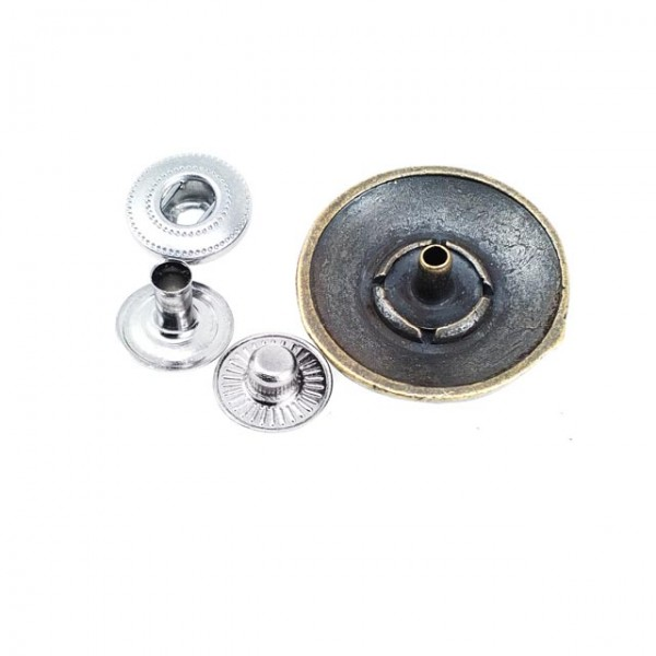 23 mm - 37 size Metal snap button ball button E 491