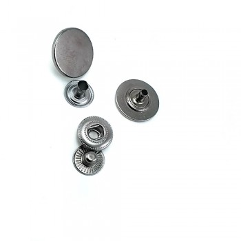 18 mm - 28 size Metal snap button  E 563