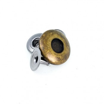 16 mm - 25 size Metal Aesthetic snap button  E 667