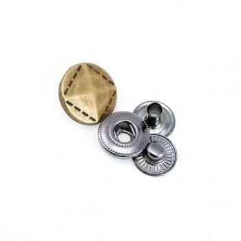 Snap button blazer jacket and coat diameter 15 mm 24 size E 816
