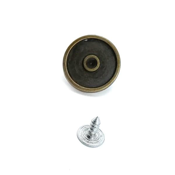 19 mm Retro Jeans Button E 1202