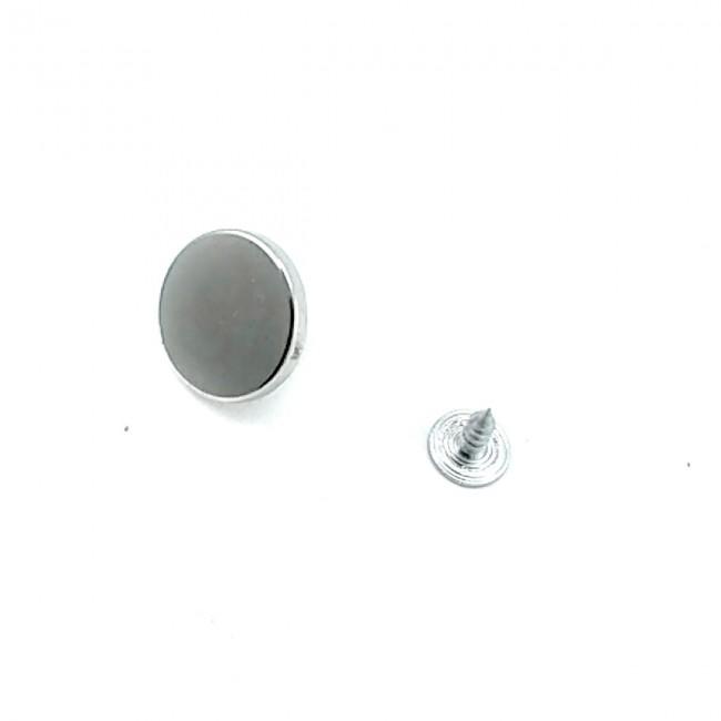 18 mm Sade Tasarımlı Çakma Düğme  E 1374