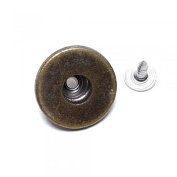 19 mm Fastening button E 1375   Textile accessories online sale