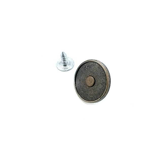 17 mm Dotted Simple Fastening Jeans Button E 1434