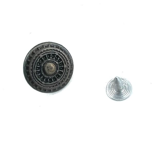 18 mm - 30 L Geometric Pattern Jeans Button E 200