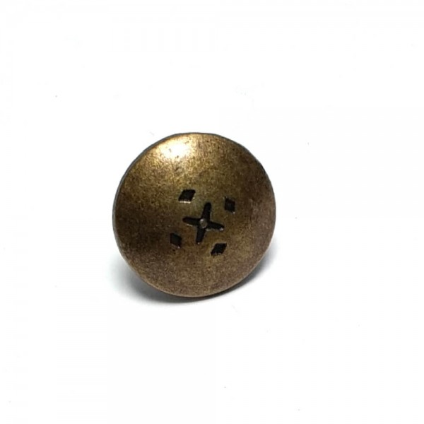 Alloy button 17 mm E 371