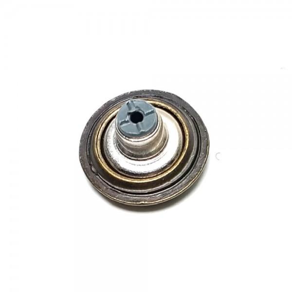 Alloy Button 15 mm E 504