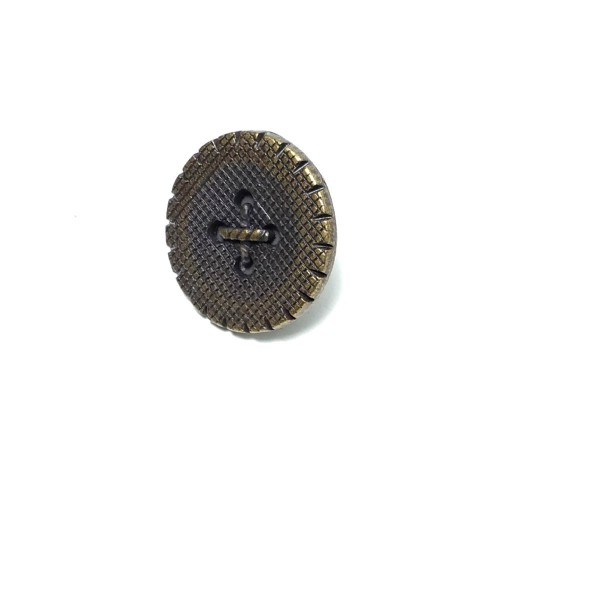 22 mm Stitched-in Center Metal Fastening Button E 653