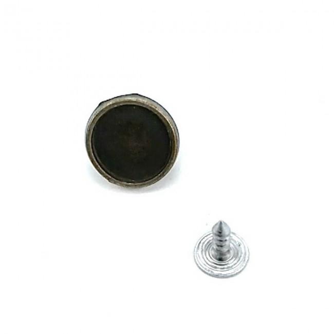 15 mm Sade  Kot düğme E 821