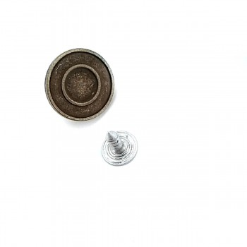 17 mm Ring Jeans Button E 940
