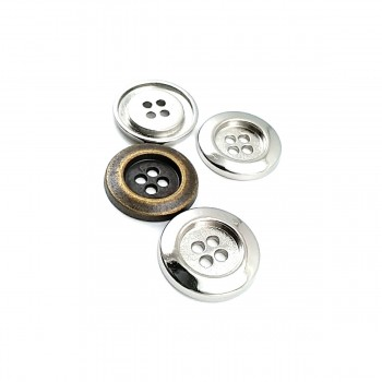 Classic Simple Design Sewing Button 20 mm - 35 size E 1218