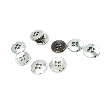 13 mm Simple Sewing Button With Four Holes E 1633