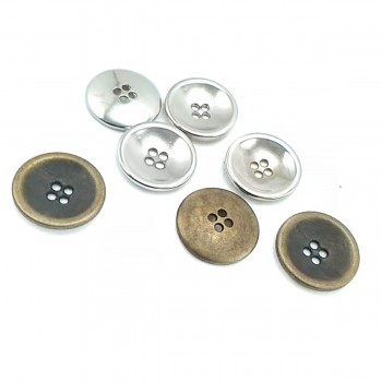 Classic Simple Design Sewing Button 20 mm - 35 size E 1871