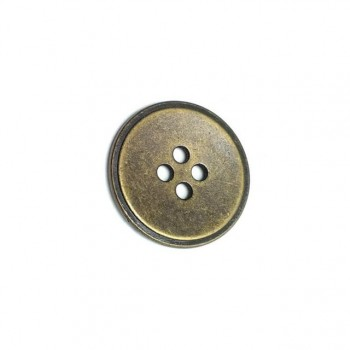 23 mm  - 36 lignes Metal button post with four holes E 44