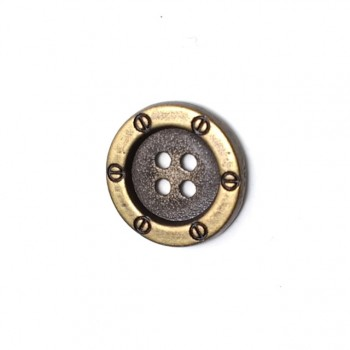 18 mm Punching button with four holes E 749