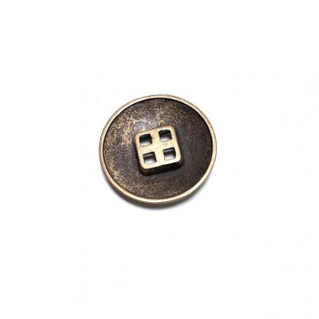 28 mm- 46 Lignes Coat and jacket button with four holes E 783