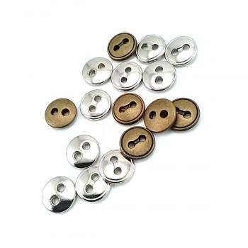 11 mm Two-Hole Stylishly Designed Button E 1001