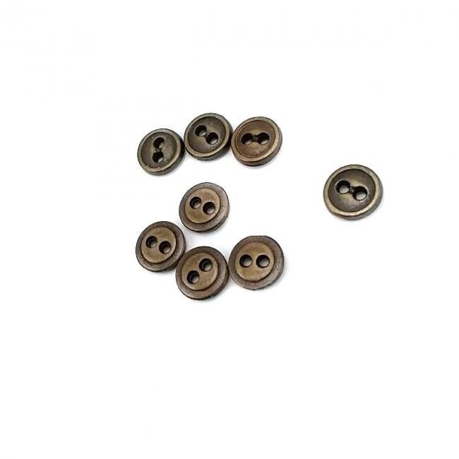 10 mm İki Delikli Dikme Düğme E 1271