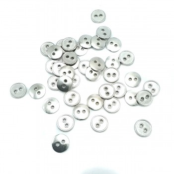 10 mm Metal Pillar Button with Two Holes E 1339
