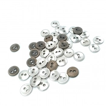 9 mm Simple Two-Hole Sewing Button E 1445