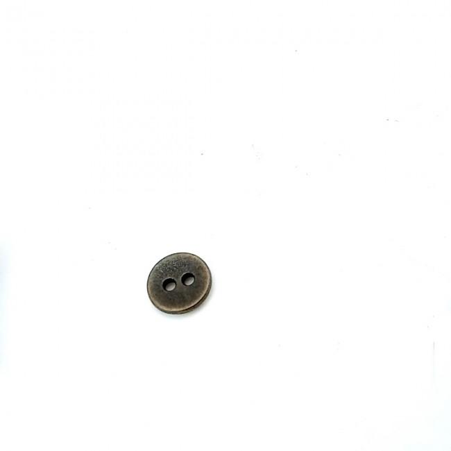 10 mm İki delikli dış giyim dikme düğme metal  E 315