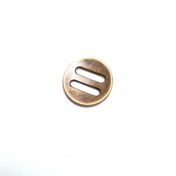 18 mm - 30 Lignes Metal button with two holes E 356