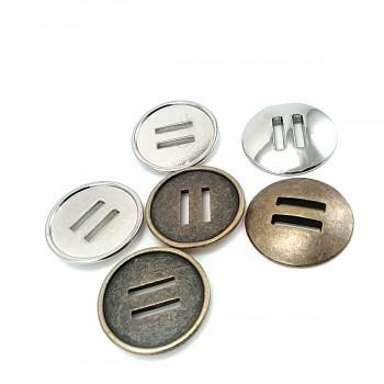 26 mm 2 Holes Metal Button 42 lignes E 380
