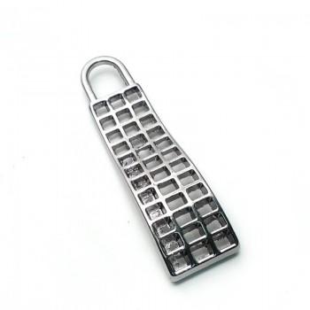 Zipper Handle Metal Stylish Design 38mm B 65