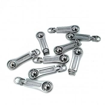 40 mm Zipper puller - beaded design E 1240