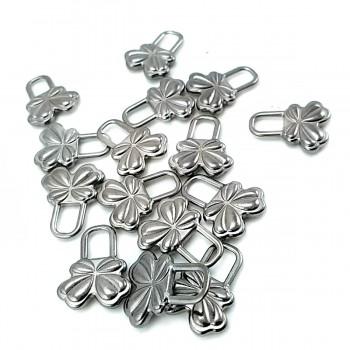 18 mm x 14 mm Daisy shape with zipper handle E 2029