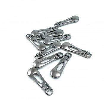 30 mm Zipper Pullers Sport Design E 2182